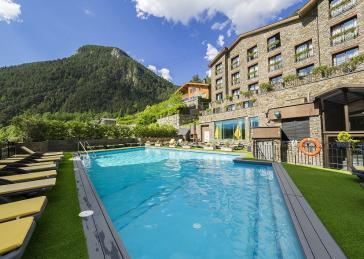 Swimming pool Hotel Spa Princesa Parc